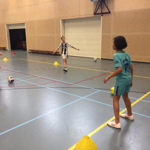 Zaalvoetbal Helmondse Voetbalschool