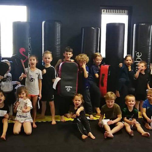 Teakwondo clinic Difesa Sports